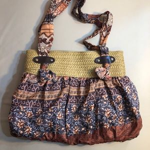 Mod Vera Bradley Floral Hobo Bag